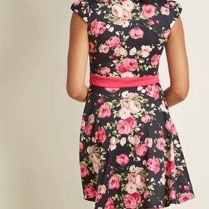 ModCloth Dresses - Modcloth The Story of Citrus Floral Dress